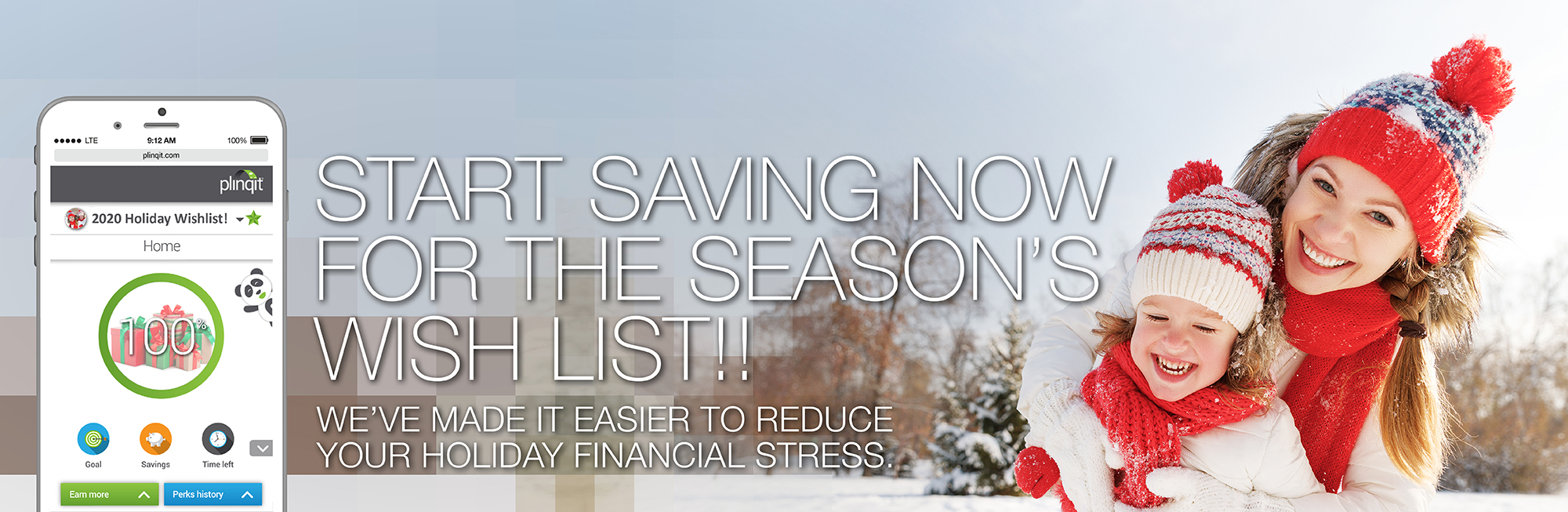 Start Saving Now for your Seasons Wish List with Plinqit!