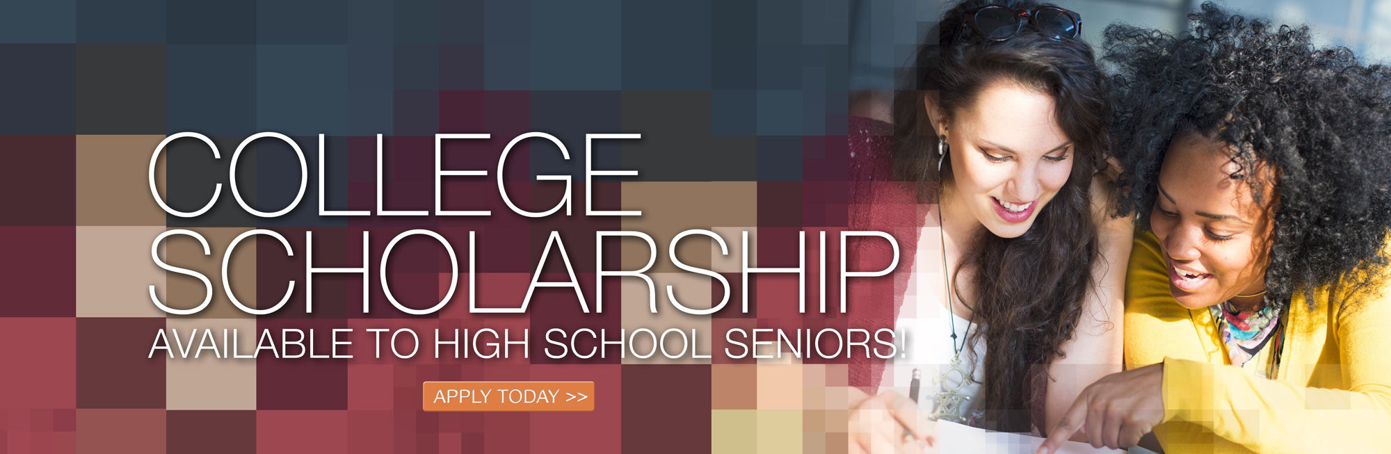 College scholarship available for a graduating high school senior! Click to learn more.