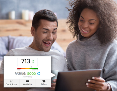 New in Online Banking: FREE CREDIT SCORE!