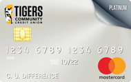 Tigers Community Credit Union Credit Card. Rates as low as 9.9% APR