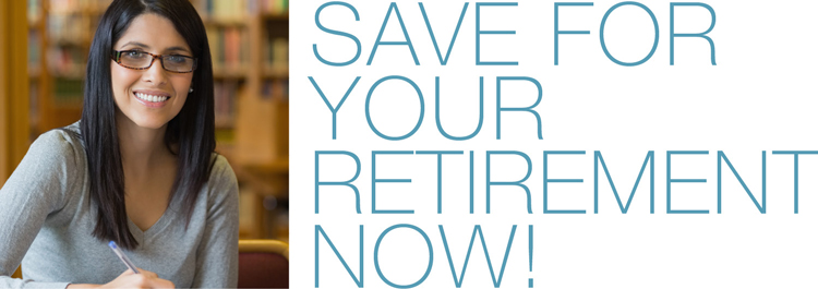 Save for your retirement now!