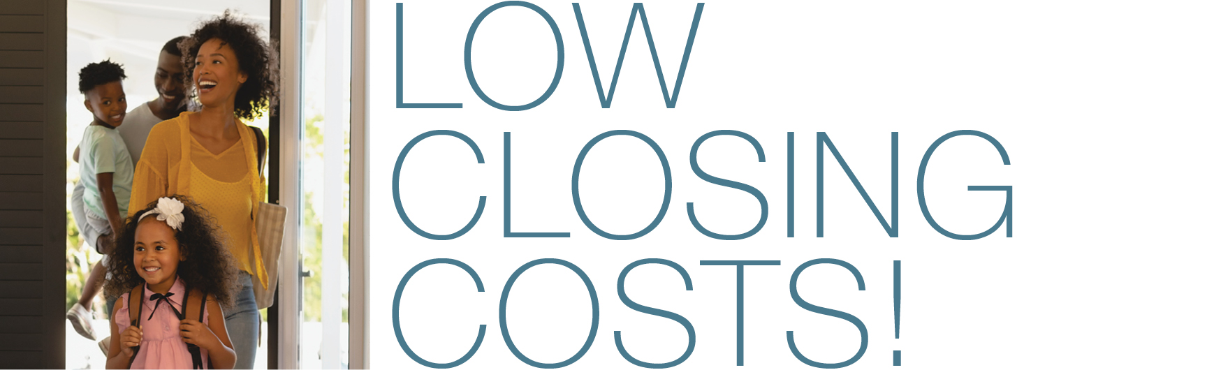 Low closing costs on mortages