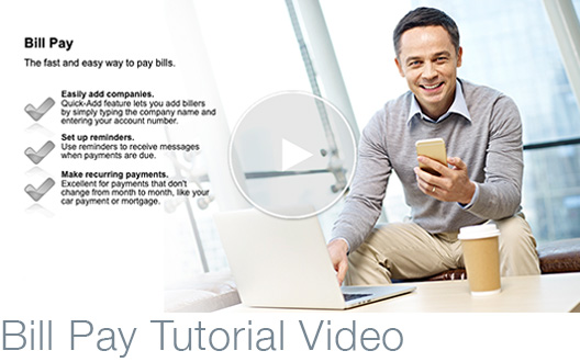 Bill Pay Tutorial